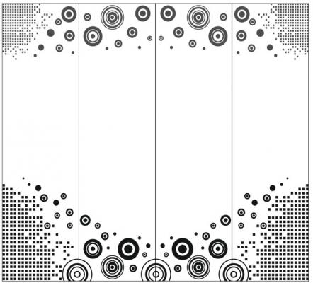 Пескоструйный рисунок Абстракция №430