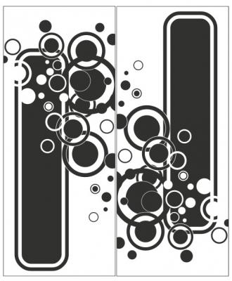Пескоструйный рисунок Абстракция №433