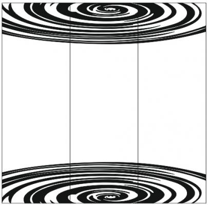 Пескоструйный рисунок Абстракция №436