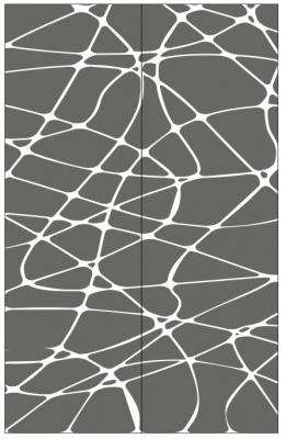 Пескоструйный рисунок Абстракция №441