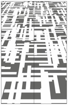 Пескоструйный рисунок Абстракция №442