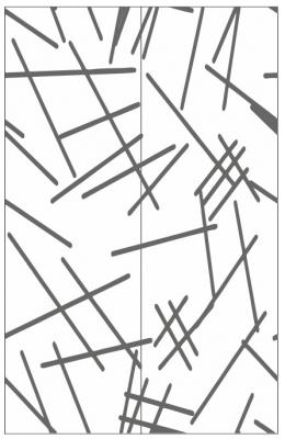 Пескоструйный рисунок Абстракция №445