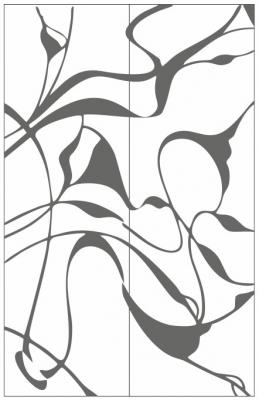 Пескоструйный рисунок Абстракция №446