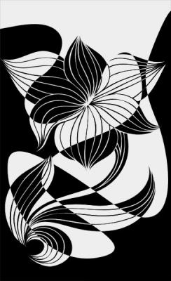 Пескоструйный рисунок Абстракция №449