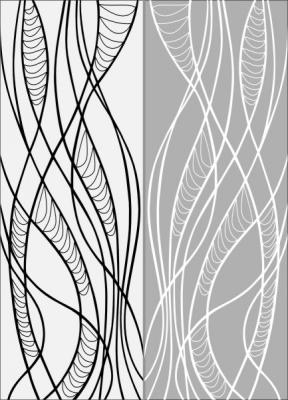 Пескоструйный рисунок Абстракция №460