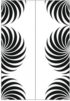Пескоструйный рисунок Абстракция №462