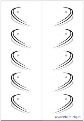 Пескоструйный рисунок Абстракция №473