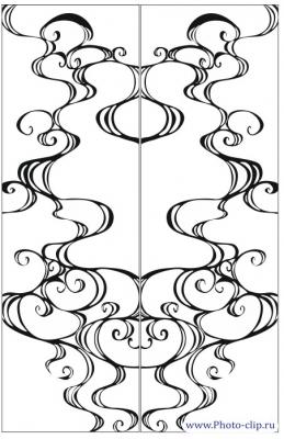 Пескоструйный рисунок Абстракция №485
