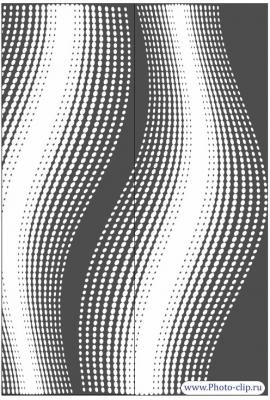 Пескоструйный рисунок Абстракция №489