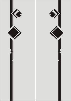 Бордюр в векторе №5
