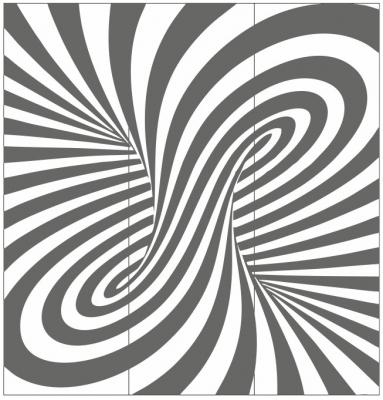 Пескоструйный рисунок Абстракция №644