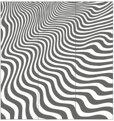 Пескоструйный рисунок Абстракция №645