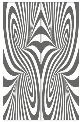 Пескоструйный рисунок Абстракция №646