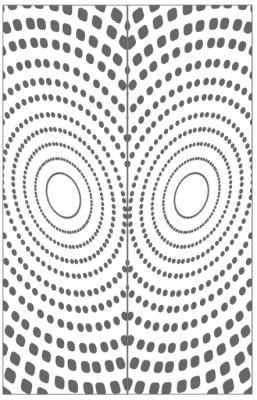Пескоструйный рисунок Абстракция №648
