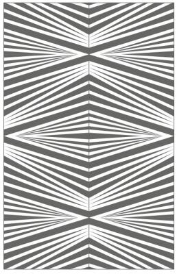Пескоструйный рисунок Абстракция №652