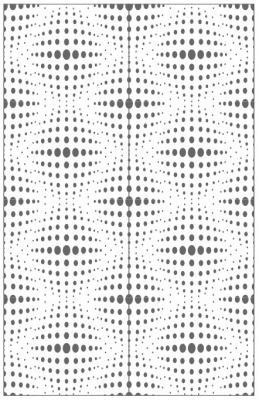 Пескоструйный рисунок Абстракция №665