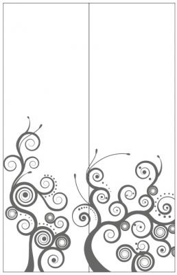 Пескоструйный рисунок Абстракция №666