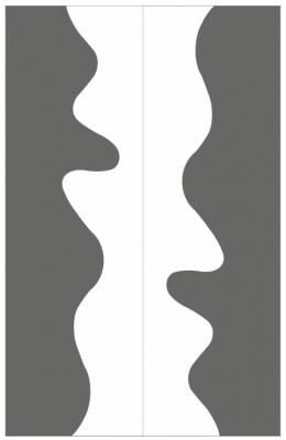 Пескоструйный рисунок Абстракция №667
