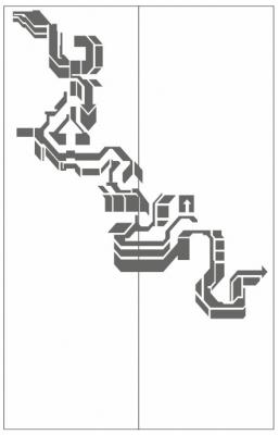 Пескоструйный рисунок Абстракция №669