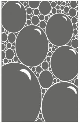 Пескоструйный рисунок Абстракция №673