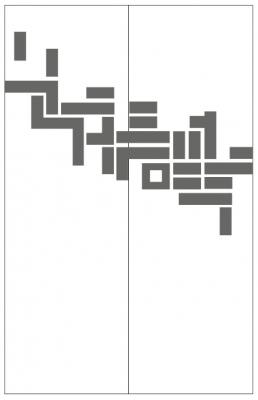 Пескоструйный рисунок Абстракция №676