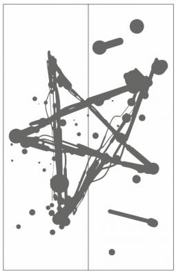 Пескоструйный рисунок Абстракция №684