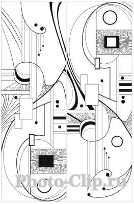 Пескоструйный рисунок Абстракция №686