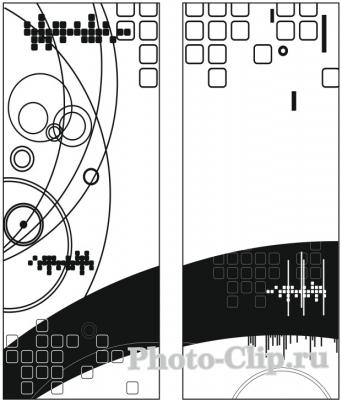 Пескоструйный рисунок Абстракция №690