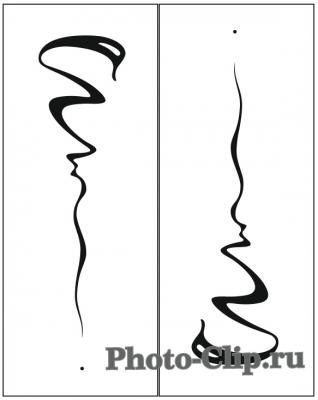 Пескоструйный рисунок Абстракция №693