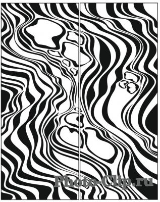 Пескоструйный рисунок Абстракция №694