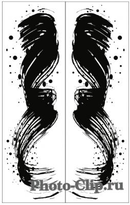 Пескоструйный рисунок Абстракция №695