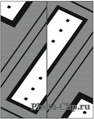 Пескоструйный рисунок Абстракция №698