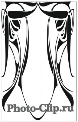 Пескоструйный рисунок Абстракция №716