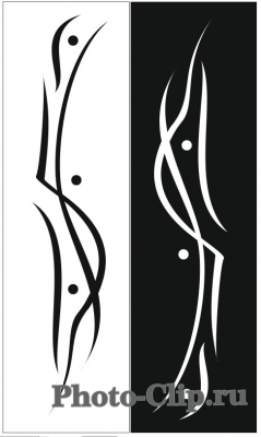 Пескоструйный рисунок Абстракция №723