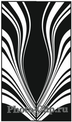 Пескоструйный рисунок Абстракция №726