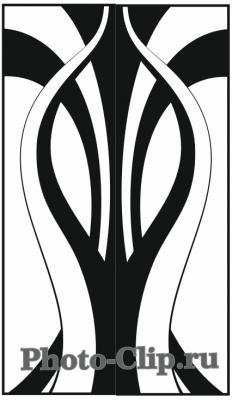 Пескоструйный рисунок Абстракция №728