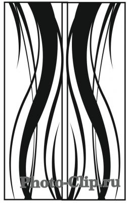 Пескоструйный рисунок Абстракция №730