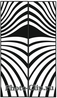 Пескоструйный рисунок Абстракция №733