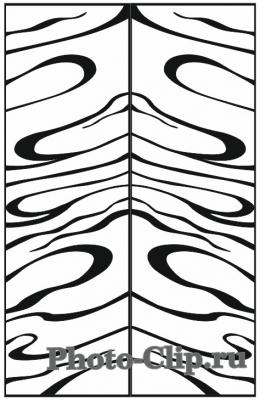 Пескоструйный рисунок Абстракция №735