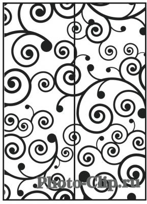 Пескоструйный рисунок Абстракция №740