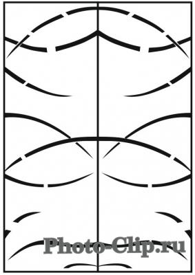 Пескоструйный рисунок Абстракция №746