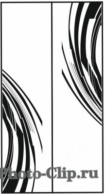 Пескоструйный рисунок Абстракция №752