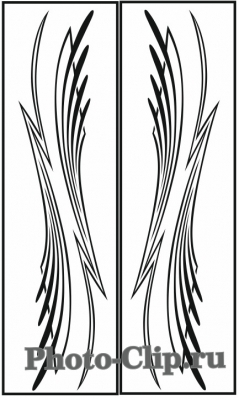 Пескоструйный рисунок Абстракция №753