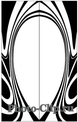 Пескоструйный рисунок Абстракция №757