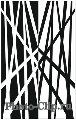 Пескоструйный рисунок Абстракция №758