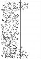 Пескоструйный рисунок бабочки 108
