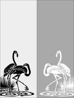 Шаблон Птицы №11