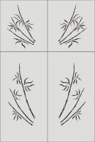 Бамбук в векторе №11