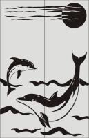 Дельфины №11