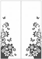 Пескоструйный рисунок бабочки 112